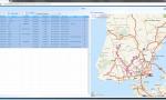Beelogic IMS : Visualização da rota efectuada.